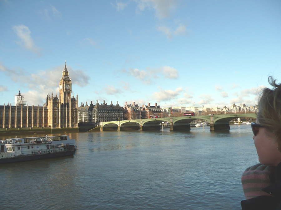 Gina, Westminster, and the Thames