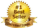 #1 International Bestseller Badge