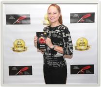 Gina at the 2016 EIPPY Awards